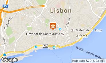 Mappa Lisbona Appartamento 37349