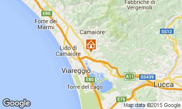 Mappa Viareggio Appartamento 70889