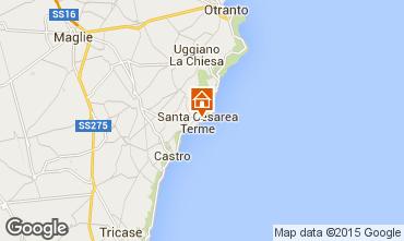 Mappa Santa Cesarea Terme Monolocale 98187