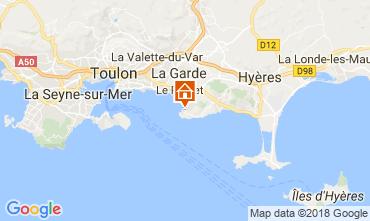 Mappa Le Pradet Villa  115101
