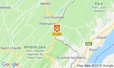 Mappa Les Rousses Monolocale 117592