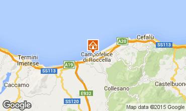 Mappa Cefalù Villa  32862