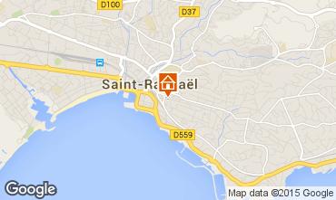 Mappa Saint Raphael Appartamento 91064