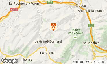 Mappa Le Grand Bornand Appartamento 1370