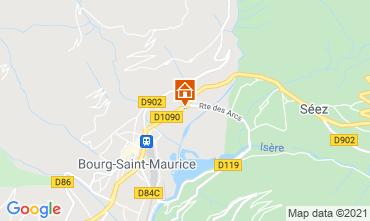 Mappa Les Arcs Monolocale 129