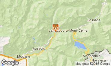 Mappa Termignon la Vanoise Appartamento 44928