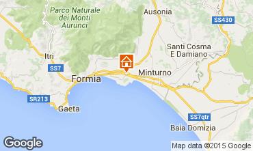 Mappa Minturno Appartamento 72866
