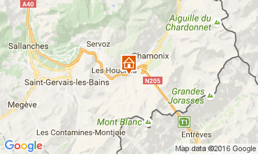 Mappa Chamonix Mont-Blanc (Monte Bianco) Chalet 106440