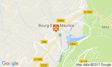 Mappa Bourg saint Maurice Monolocale 111638