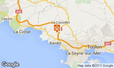Mappa La Cadi�re d'Azur Casa 94916