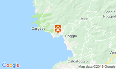 Mappa Sagone Villa  114958