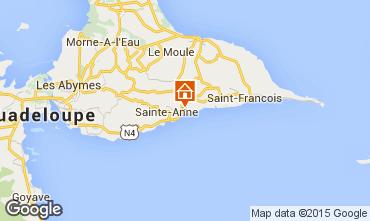 Mappa Sainte Anne (Guadalupa) Agriturismo 27568