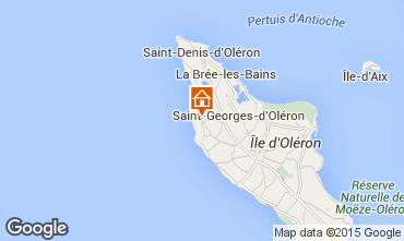 Mappa Saint Georges d'Oléron Casa 63363