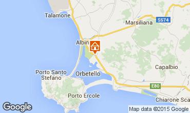 Mappa Orbetello Monolocale 33435