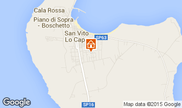 Mappa San Vito lo Capo Appartamento 68445