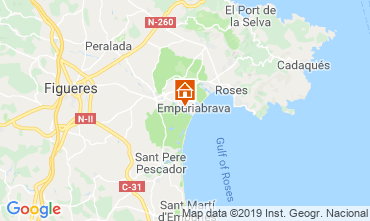 Mappa Empuriabrava Villa  119891