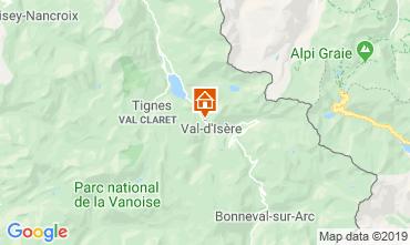 Mappa Val d'Isère Appartamento 3354