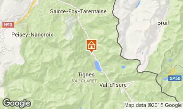 Mappa Tignes Chalet 3083