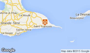 Mappa Saint Francois Monolocale 40094