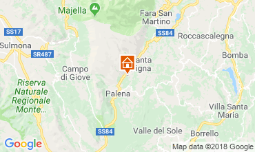 Mappa Roccaraso Casa 91641