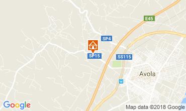 Mappa Noto Appartamento 114221