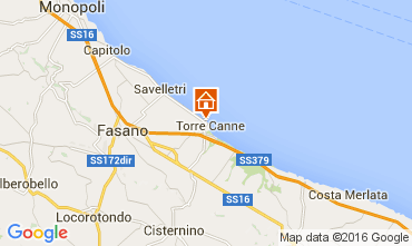 Mappa Torre Canne Appartamento 93321