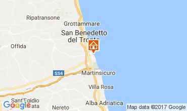 Mappa San Benedetto del Tronto Appartamento 110845