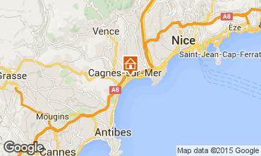 Mappa Cagnes sur Mer Monolocale 97503