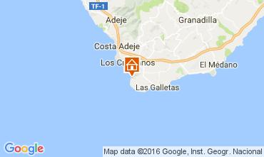 Mappa Los Cristianos Appartamento 103218