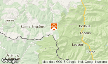 Mappa Arette La Pierre Saint Martin Monolocale 91683