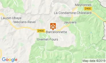 Mappa Barcelonnette Appartamento 4866