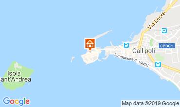 Mappa Gallipoli Appartamento 45616
