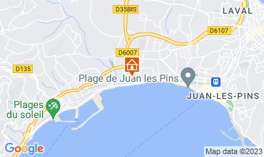Mappa Juan les Pins Appartamento 76269
