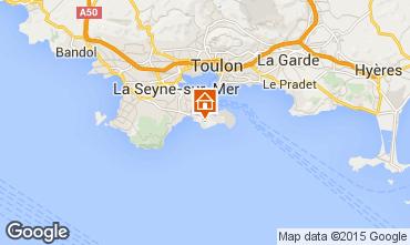 Mappa Saint Mandrier sur Mer Monolocale 62076