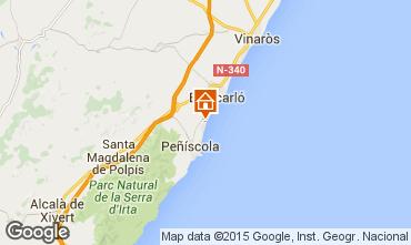 Mappa Peñíscola Appartamento 76968