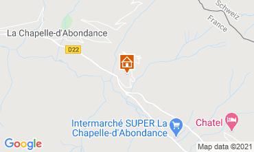 Mappa Châtel Chalet 600