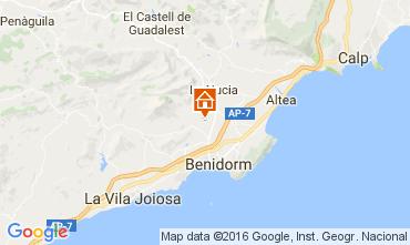 Mappa Benidorm Casa 97261