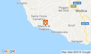 Mappa Marina di Ragusa Appartamento 116389