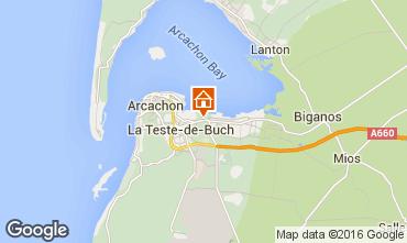Mappa Arcachon Casa 103042