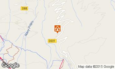 Mappa La Plagne Chalet 2182