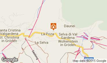 Mappa Selva di Val Gardena  Appartamento 64158