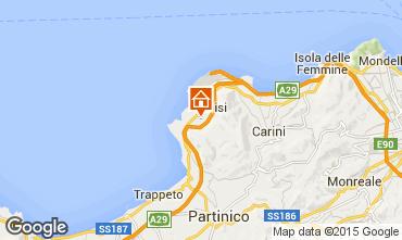 Mappa Palermo Villa  95288