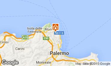 Mappa Mondello Casa 96722