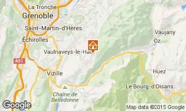Mappa Chamrousse Appartamento 75632
