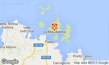 Mappa La Maddalena Appartamento 88384