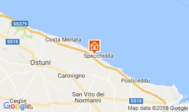 Mappa Lido Specchiolla Villa  114274