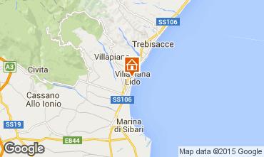 Mappa Villapiana Appartamento 71359