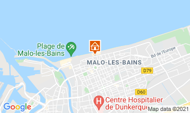 Mappa Malo Les Bains Monolocale 77972