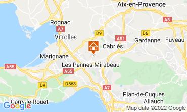 Mappa Aix en Provence Casa 87754