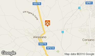 Mappa Alessano Villa  102609